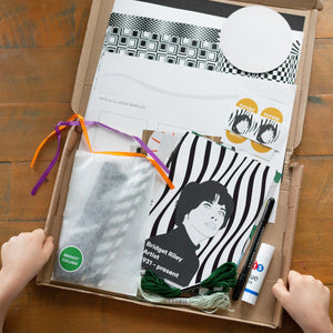 The Op-Art Box - Inspired by Bridget Riley Make and Wonder