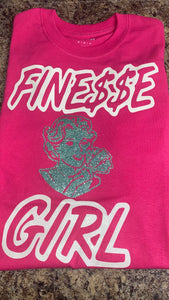 Finesse girl T-shirts