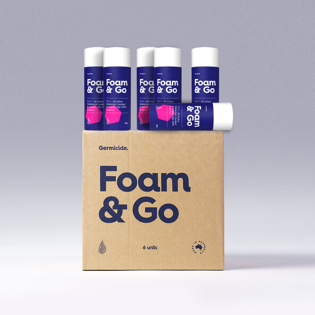 Foam & Go ( 6 Pack )