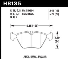 Load image into Gallery viewer, Hawk 95-02 BMW M3 Blue 42 Front Brake Pad