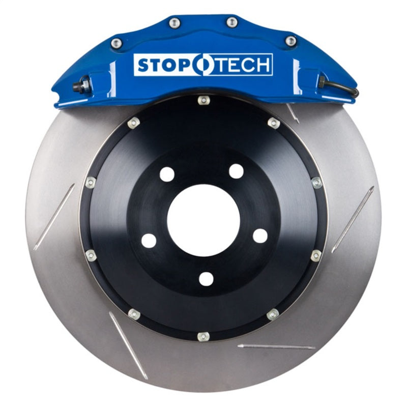 StopTech 06-09 Honda S2000 2.2L VTEC ST-60 Blue Calipers 355x32mm Slotted Rotors Front Big Brake Kit