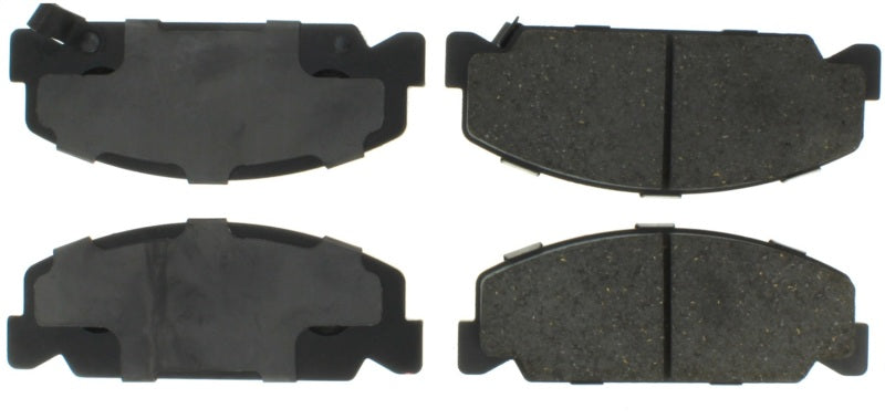 StopTech Performance 93-00 Honda Civic DX w/ Rr Drum Brakes Front Brake Pads