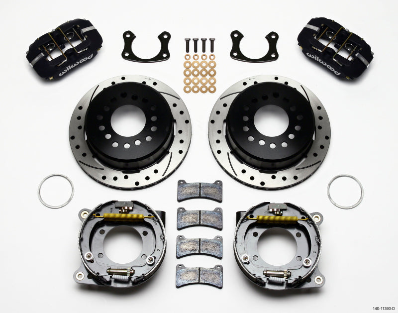 Wilwood Dynapro Low-Profile 11.00in P-Brake Kit Drilled Small Ford 2.66in Offset