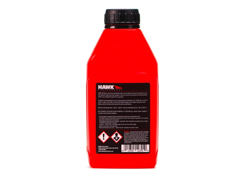 Hawk Performance Street DOT 4 Brake Fluid - 500ml Bottle