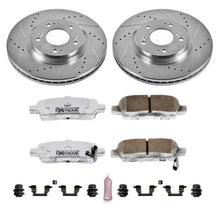 Load image into Gallery viewer, Power Stop 02-06 Nissan Altima Rear Z26 Street Warrior Brake Kit