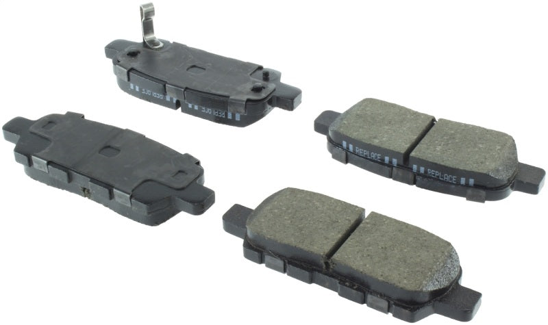 StopTech 12-17 Nissan Maxima Street Performance Rear Brake Pads