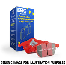 Load image into Gallery viewer, EBC 98-05 Porsche 911 (996) (Cast Iron Rotor only) 3.4 Carrera 2 Redstuff Front Brake Pads