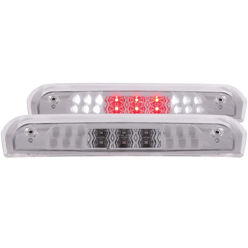 ANZO 2002-2008 Dodge Ram 1500 LED 3rd Brake Light Chrome B - Series