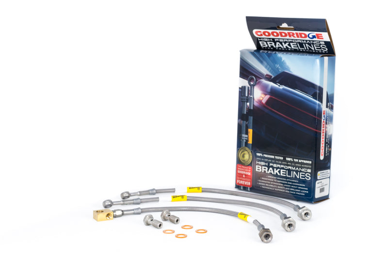 Goodridge 69-76 Camaro/Firebird Brake Lines