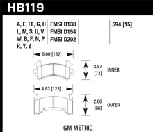 Load image into Gallery viewer, Hawk 78-87 Buick Regal DTC-60 Front Brake Pads