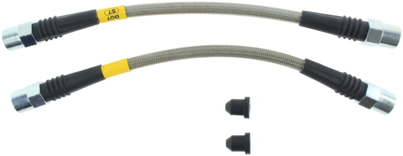 StopTech 93-97 Volvo 850 Stainless Steel Rear Brake Line Kit