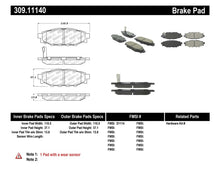 Load image into Gallery viewer, StopTech Performance 08-10 WRX Rear Brake Pads