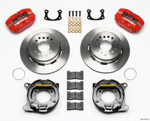 Load image into Gallery viewer, Wilwood Dynapro Lug Mount P/S Park Brake Kit Red New Big Ford 2.50in Offset