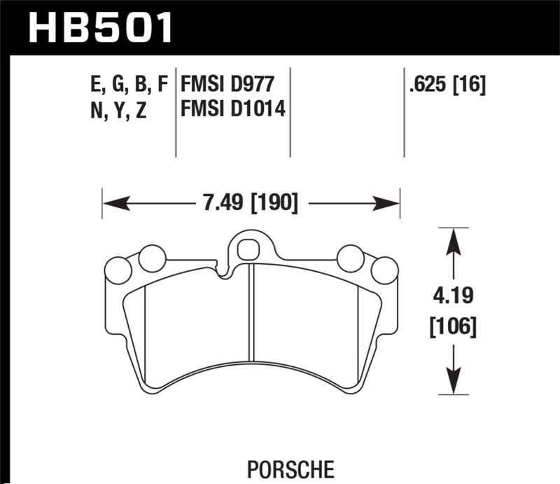 Hawk 07-15 Audi Q7 Base / Premium HP+ Compound Front Brake Pads