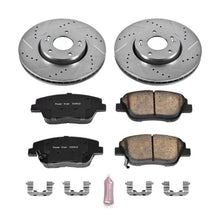 Load image into Gallery viewer, Power Stop 10-15 Hyundai Sonata Front Z23 Evolution Sport Brake Kit