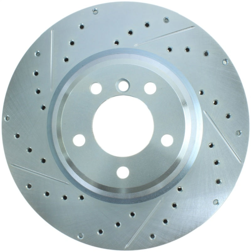 StopTech Select Sport 07-13 BMW 335i Slotted & Drilled Vented Right Front Brake Rotor