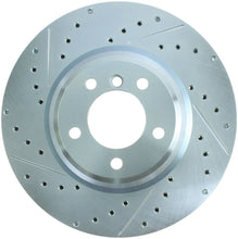 Load image into Gallery viewer, StopTech Select Sport 07-13 BMW 335i Slotted & Drilled Vented Right Front Brake Rotor
