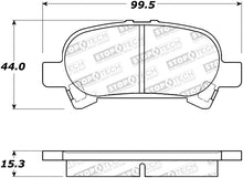 Load image into Gallery viewer, StopTech 02-06 Toyota Camry Street Performance Rear Brake Pads