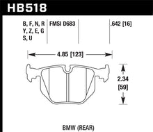 Load image into Gallery viewer, Hawk BMW Rear DTC-70 Race Brake Pads