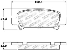Load image into Gallery viewer, StopTech Performance 02-03 WRX Rear Brake Pads
