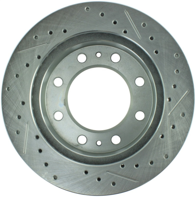 StopTech Select Sport 03-17 Chevrolet Express 2500 Sport Slotted & Drilled Right Front Brake Rotor