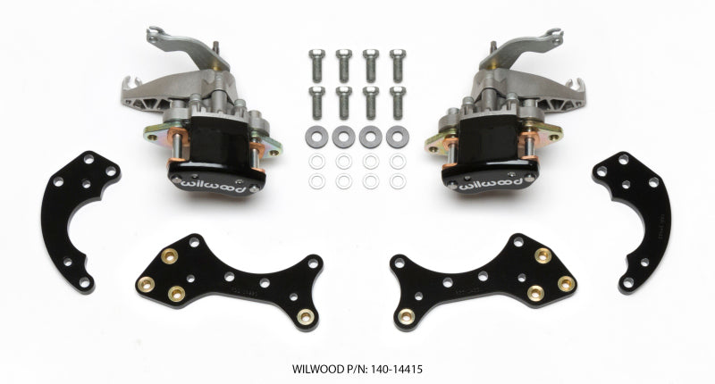 Wilwood P/S Retrofit Kit w/MC4 P-Brake Forged Dynalite Pro Street 12.19in Rear Kits