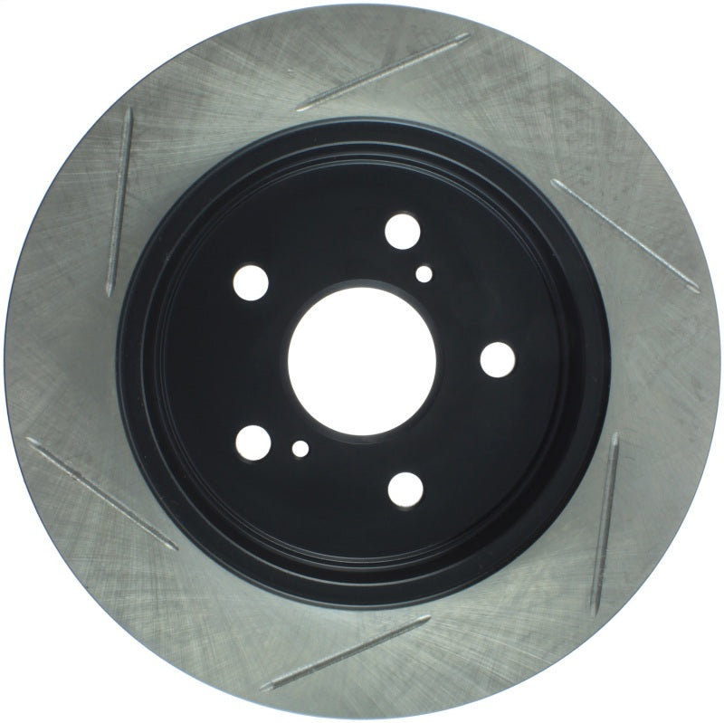 StopTech 15-16 Nissan NX200T / NX300H Slotted Rear Left Sport Brake Rotor