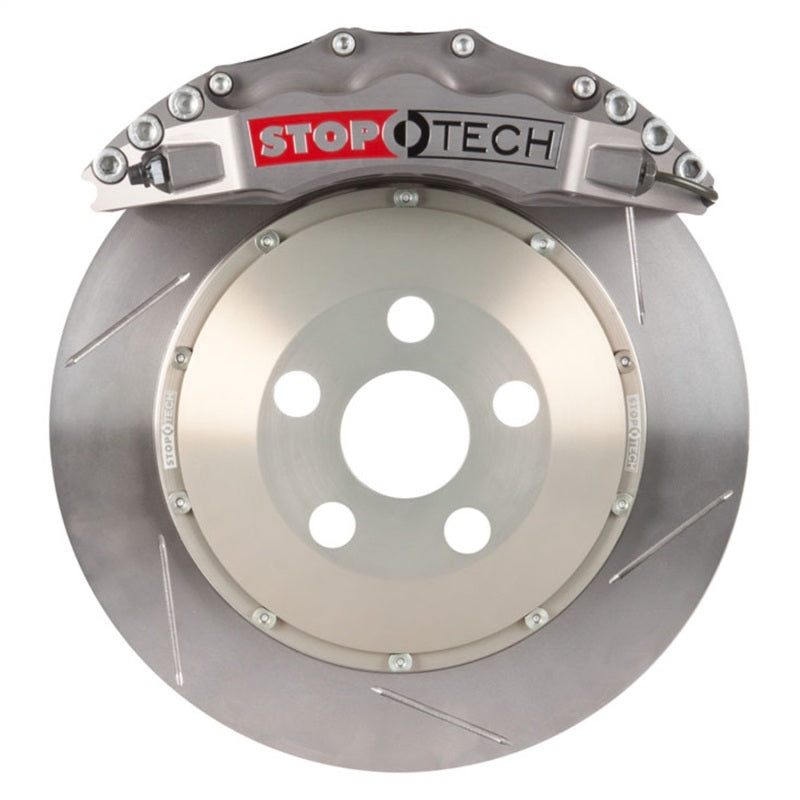 StopTech 08-13 370Z / G37 ST-60 Calipers 355x32mm Rotors Trophy Sport/Slotted Front Big Brake Kit
