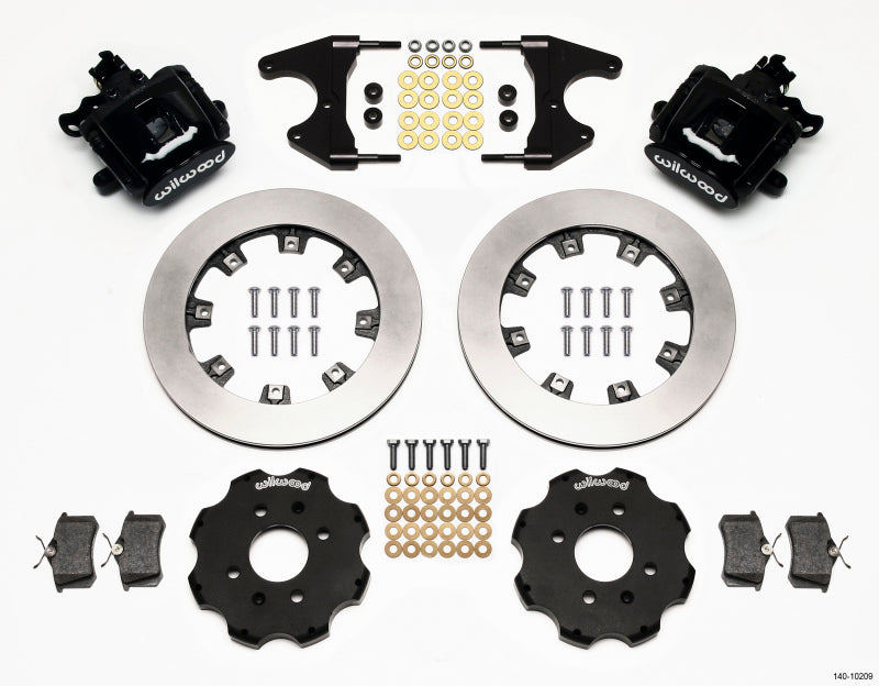 Wilwood Combination Parking Brake Rear Kit 12.19in Civic / Integra Drum 2.46 Hub Offset