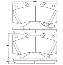 Load image into Gallery viewer, StopTech 07-17 Toyota Tundra Street Performance Front Brake Pads