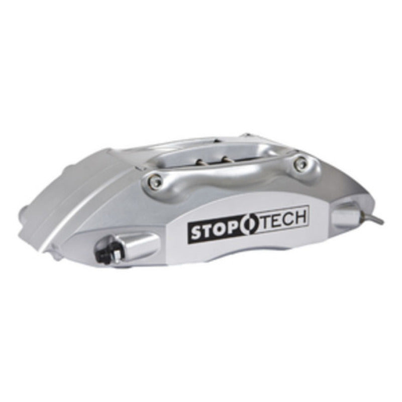 StopTech 93-98 Toyota Supra w/ Silver ST-40 Calipers 332x32mm Slotted Rotors Front Big Brake Kit