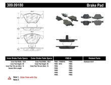 Load image into Gallery viewer, StopTech Performance 07-09 BMW E90/E92/E93 335i Coupe/Sedan Front Brake Pads D918