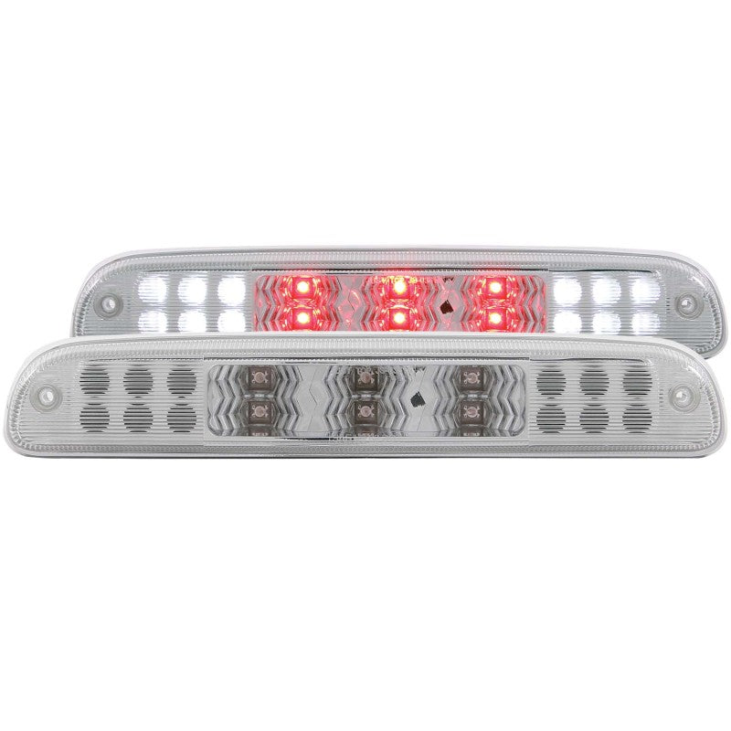 ANZO 1999-2015 Ford F-250 LED 3rd Brake Light Chrome B - Series