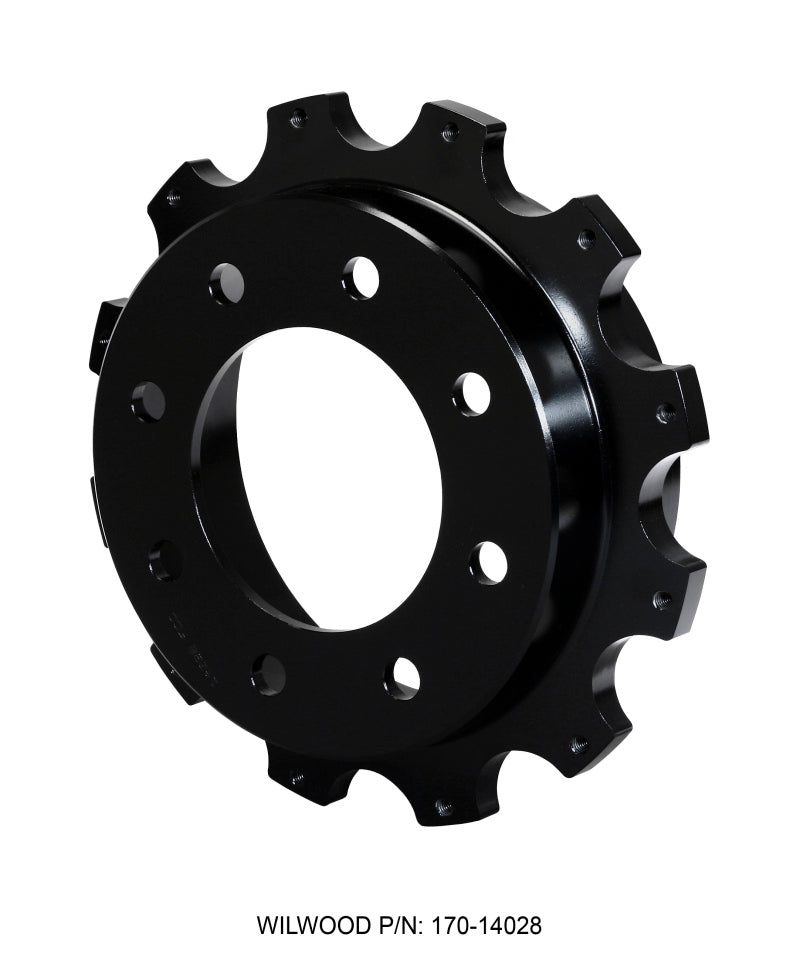 Wilwood Hat-Park Brake 1.78in Offset 8 x 6.50 - 12 on 10.75in