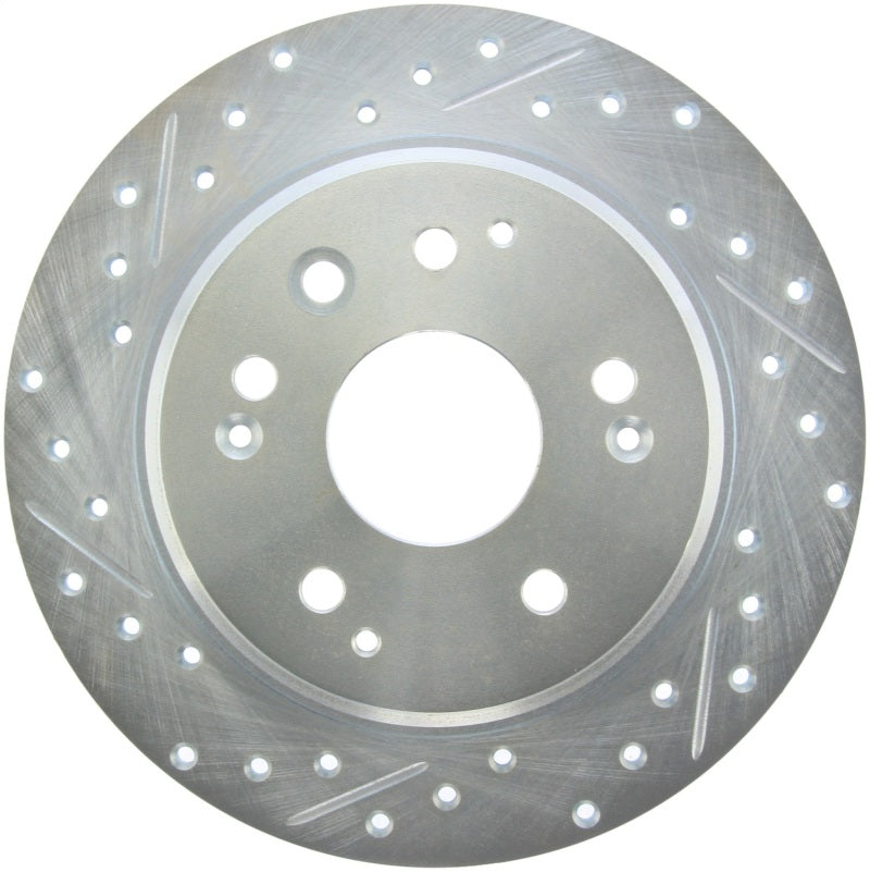 StopTech Select Sport 04-08 Acura TL Drilled & Slotted Rear Passenger Side Sport Brake Rotor