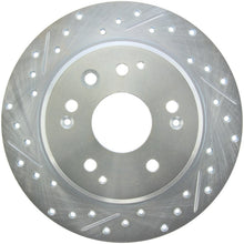 Load image into Gallery viewer, StopTech Select Sport 04-08 Acura TL Drilled & Slotted Rear Passenger Side Sport Brake Rotor