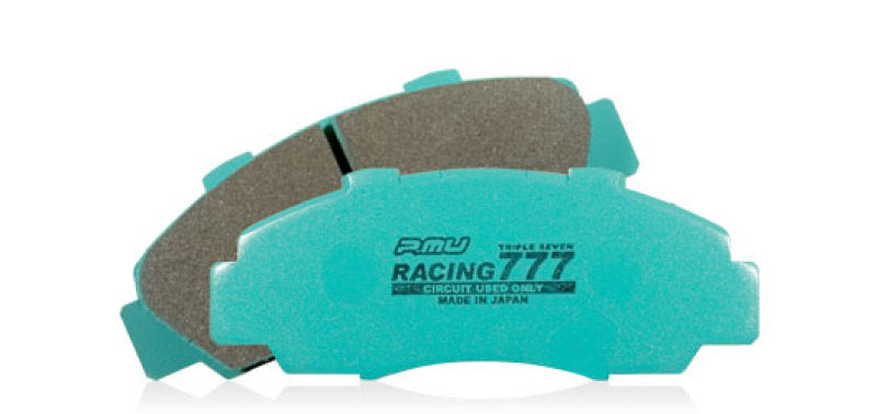 Project Mu 09-10 Nissan GTR (R35) RACING 777 Front Brake Pads