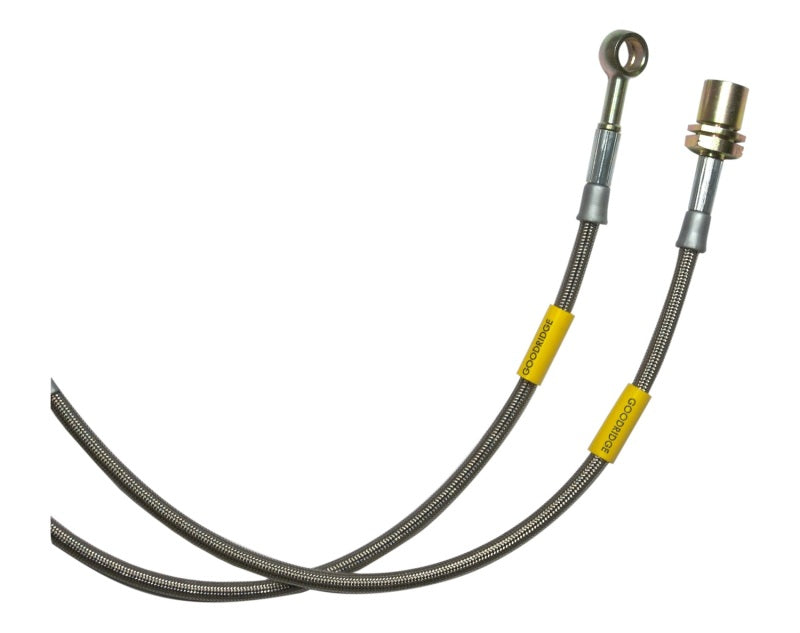 Goodridge 14-16 Infiniti Q60 (IPL Coupe Only) SS Brake Lines