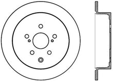 Load image into Gallery viewer, StopTech 14-16 Toyota Highlander Sport Drilled Rear Driver Side Brake Rotor