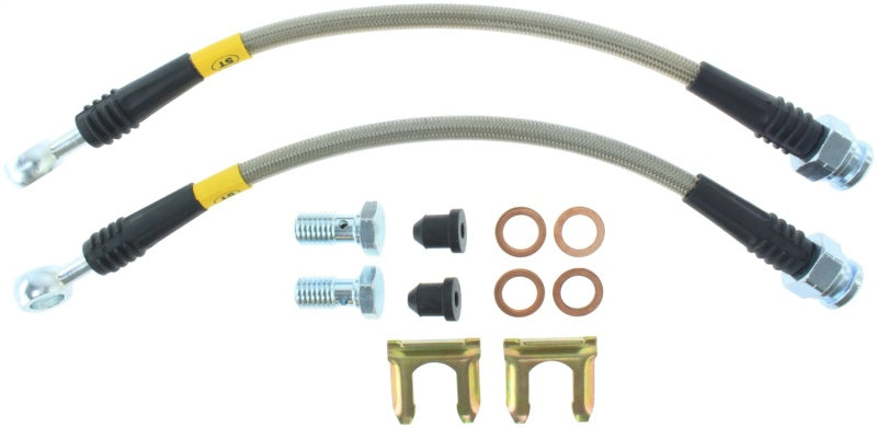 StopTech 12-16 Dodge Charger Stainless Steel Rear Brake Lines