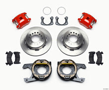 Load image into Gallery viewer, Wilwood D154 P/S Park Brake Kit Red New Big Ford 2.50in Offset