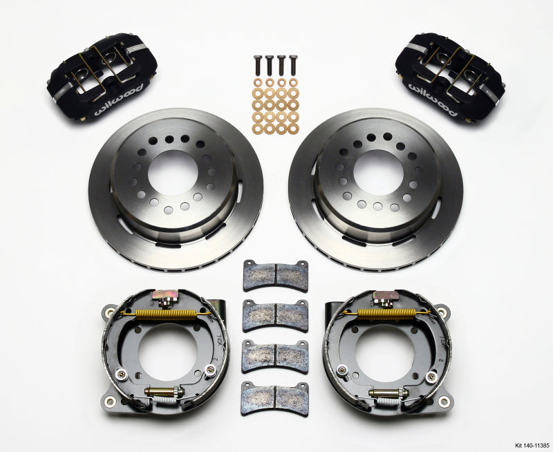 Wilwood Dynapro Low-Profile 11.00in P-Brake Kit Chevy C-10 2.42 Offset 5-lug