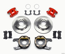 Load image into Gallery viewer, Wilwood D154 P/S Park Brake Kit Red Small Ford 2.50in Offset