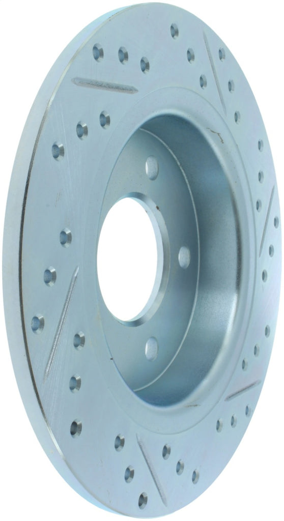 StopTech Select Sport 09-13 Mazda 3 Slotted & Drilled Right Rear Brake Rotor
