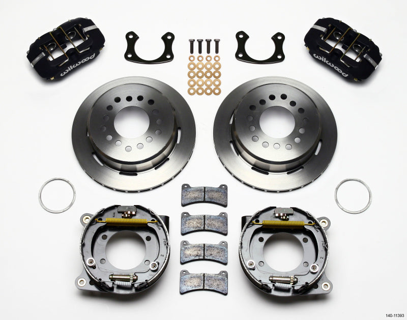 Wilwood Dynapro Low-Profile 11.00in P-Brake Kit Small Ford 2.66in Offset