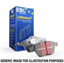 Load image into Gallery viewer, EBC 98-02 Subaru Forester 2.5 Ultimax2 Front Brake Pads