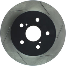 Load image into Gallery viewer, StopTech 15-16 Nissan NX200T / NX300H Slotted Rear Left Sport Brake Rotor