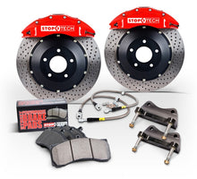 Load image into Gallery viewer, StopTech 99-02 Audi RS4 w/ Silver ST-40 Calipers 355x32mm Slotted Rotors Front Big Brake Kit