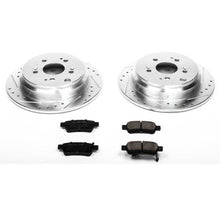 Load image into Gallery viewer, Power Stop 05-10 Honda Odyssey Rear Z23 Evolution Sport Brake Kit