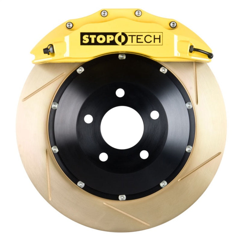 StopTech 00-03 BMW M5 (E39) Yellow ST-60 Calipers 355x32mm Slotted Coated Rotors Front Big Brake Kit